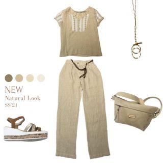 //Outfit en lino 🌾 Es un tejido esencial para la moda, ya que es el más respetuoso con el medio ambiente.Por eso apostamos por él . . #nuevacoleccion #nuevatemporada #tendencias2021 #ss21 #modafemenina #modamujer #outfitoftheday #newarrivals #igersterrassa #igersvilafranca #igersmataro #igersvic