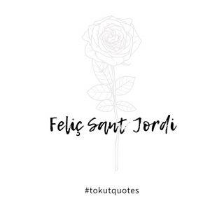 Segons la llegenda: De la sang del drag va néixer el roser amb les roses més vermelles que mai he vist. El misteriós cavaller va regalar la rosa més bonica de totes a la princesa🌹  Segun la leyenda: De la sangre del dragón nació el rosal con las rosas más rojas que jamás he visto. El misterioso caballero regaló la rosa más hermosa de todas a la princesa🌹 . . #feliçsantjordi #feliçdiada #santjordi #frasesinspiradoras #frasedeldía #inspiracion #quotes #tokutquotes #igersterrassa #igersvilafranca #igersvic #igersmataro