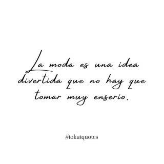// Coco Chanel  La diseñadora que nos dejó algunas declaraciones de lo más inspiradoras para las mujeres de todo el mundo . . #mensajedeldia #mensajesbonitos #frasedeldia #frasesinspiradoras #inspiracion #quotes #tokutquotes #thoughts #igersterrassa #igersvilafranca #igersmataro #igersvic