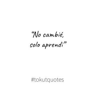 Aprender no es cambiar, es crecer❣️ . . #mensajedeldia #frasedeldia #inspiracion #quotes #tokutquotes #quotesoftheday #thoughts #igersterrassa #igersvilafranca #igersvic #igersmataro